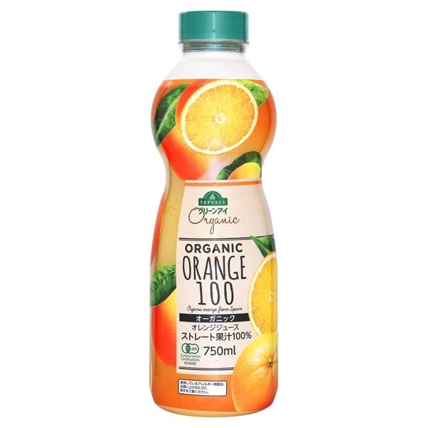 ORGANIC ORANGE 100 オーガニックオレンジジュース ストレート果汁100% 商品画像 (メイン)