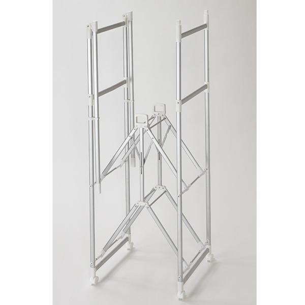 アルミ製 ワンタッチ折りたたみ室内物干し台 HOME COORDY 商品画像 (0)
