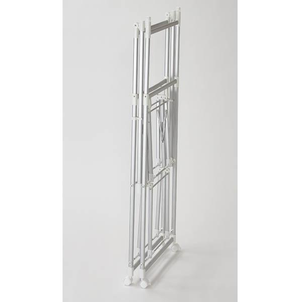 アルミ製 ワンタッチ折りたたみ室内物干し台 HOME COORDY 商品画像 (1)