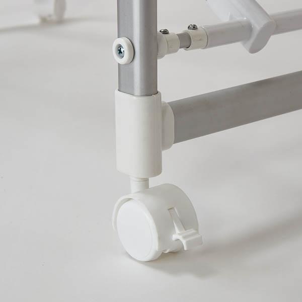 アルミ製 ワンタッチ折りたたみ室内物干し台 HOME COORDY 商品画像 (2)