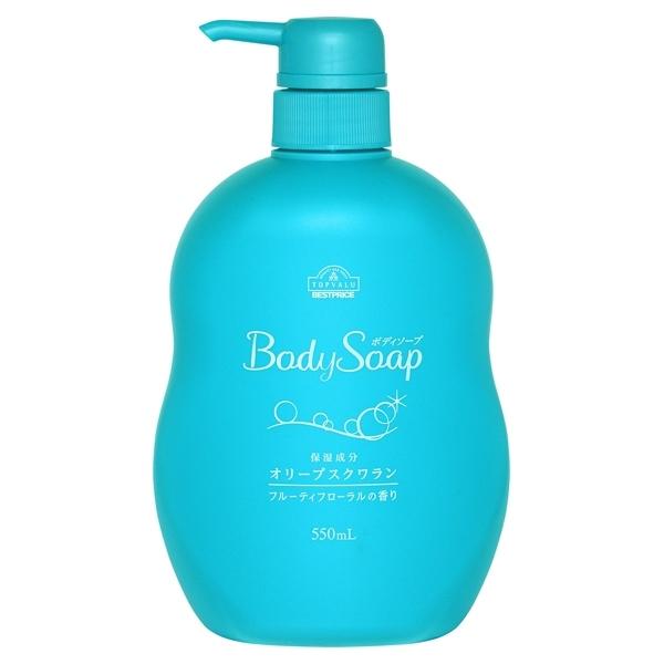 BodySoap 保湿成分 オリーブスクワラン フルーティフローラルの香り 商品画像 (0)