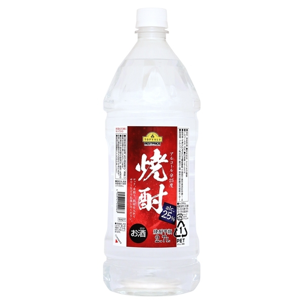 アルコール分25度 焼酎 alc.25% 焼酎甲類 商品画像 (メイン)