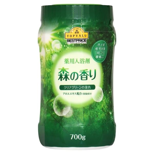 薬用入浴剤 森の香り クリアグリーンの湯色 アロエエキス配合(保湿成分) 商品画像 (メイン)