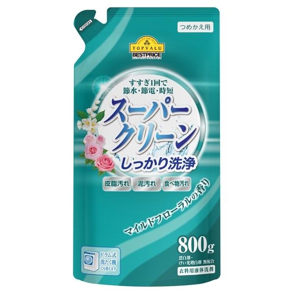 つめかえ用 スーパークリーン マイルドフローラルの香り 商品画像 (メイン)