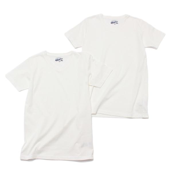 男児オーガニック綿スクールTシャツ2枚組