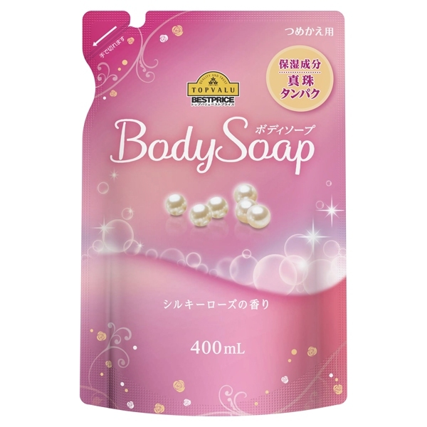 つめかえ用 Body Soap シルキーローズの香り