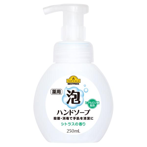薬用 泡ハンドソープ シトラスの香り ヒアルロン酸配合 商品画像 (メイン)