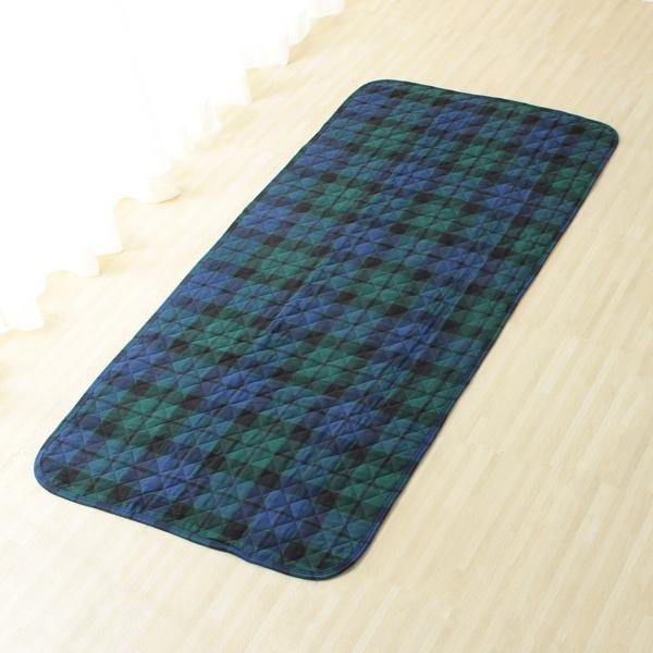 HOME COORDY コットンマルチカバー 90cm×190cm グリーン