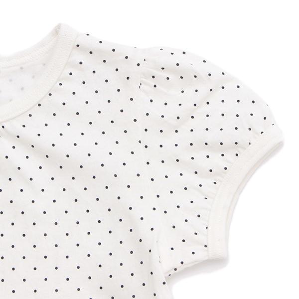 オーガニックコットン水玉半袖Tシャツ 商品画像 (2)