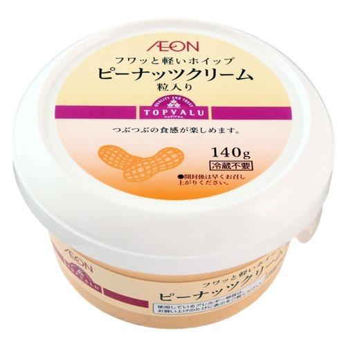 フワッと軽いホイップ ピーナッツクリーム 粒入り 商品画像 (メイン)