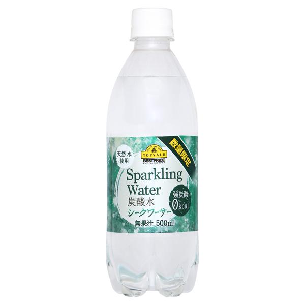 Sparkling Water 炭酸水 シークワーサー 天然水使用 無果汁
