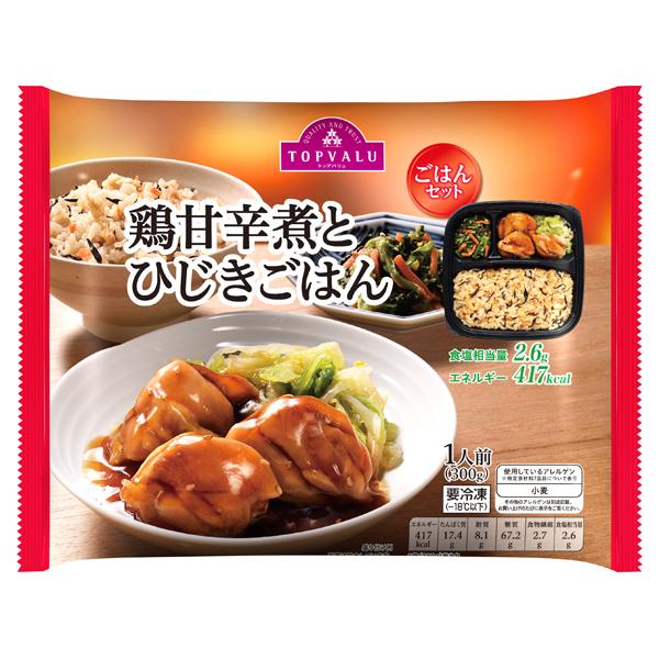 鶏甘辛煮とひじきごはん 商品画像 (メイン)