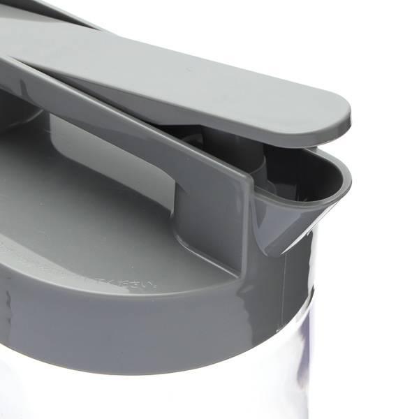 HCワンプッシュピッチャー1.6L グレー HOME COORDY 商品画像 (2)