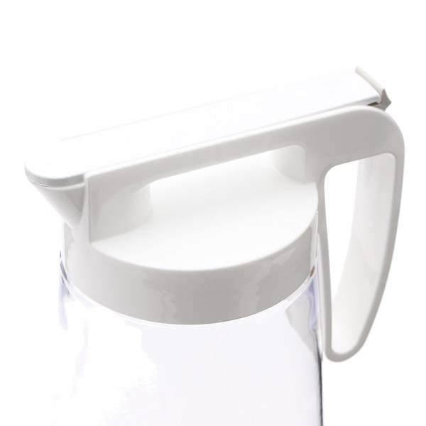 HCワンプッシュピッチャー2.2L ホワイト HOME COORDY 商品画像 (0)