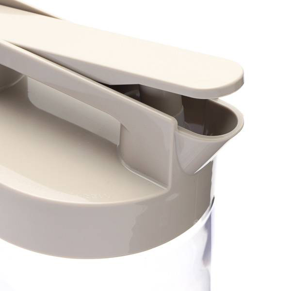 HCワンプッシュピッチャー2.2L ベージュ HOME COORDY 商品画像 (2)