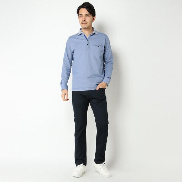 【選べるウエスト&股下サイズ】 ドライカラー5ポケパンツ (コイアオ) 商品画像 (4)