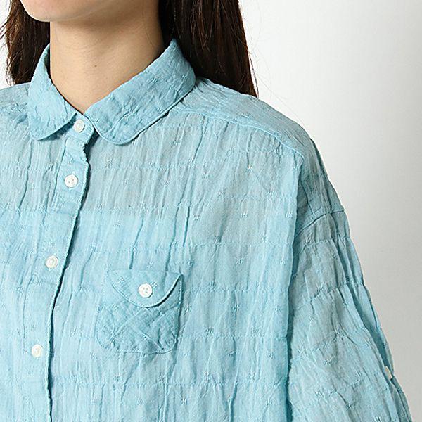 オーガニックコットン 夏サラ綿PUゆるシャツ 商品画像 (2)