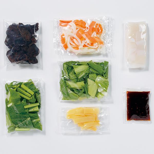 CooKit ピリ辛&魚介のうまみいかと青菜のXO醤炒め まるごと献立キット クッキット 商品画像 (1)