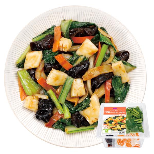 CooKit ピリ辛&魚介のうまみいかと青菜のXO醤炒め まるごと献立キット クッキット 商品画像 (メイン)