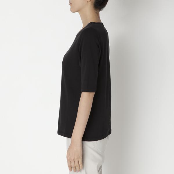 クルーネック5分袖Tシャツ 商品画像 (0)