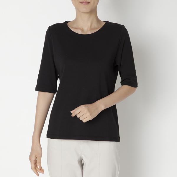 クルーネック5分袖Tシャツ 商品画像 (メイン)