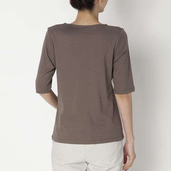 クルーネック5分袖Tシャツ 商品画像 (1)
