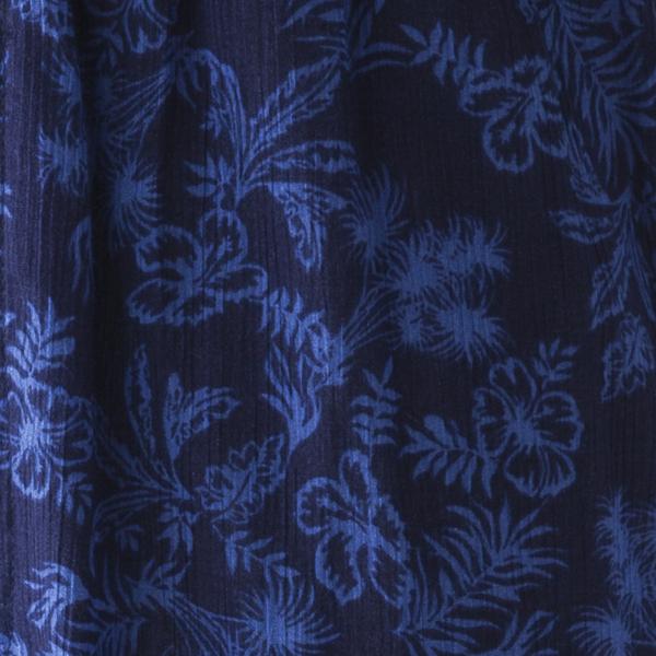 楊柳ステテコ フラワー柄 商品画像 (2)