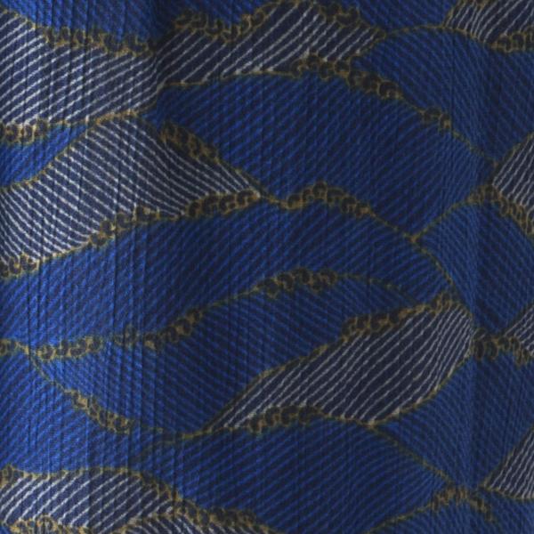 楊柳ステテコ 青海波柄 商品画像 (2)