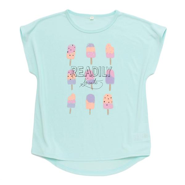 くーるっち アイスクリームプリントTシャツ