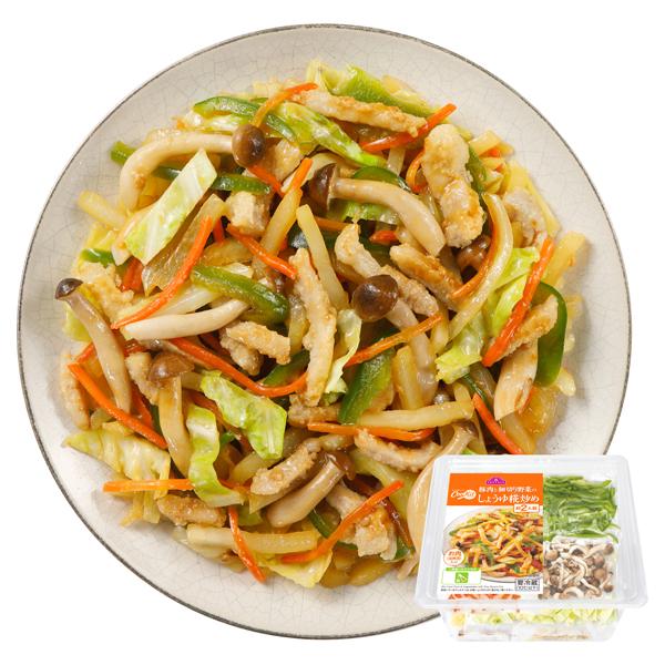 CooKit 豚肉と細切り野菜の しょうゆ糀炒め まるごと献立キット クッキット