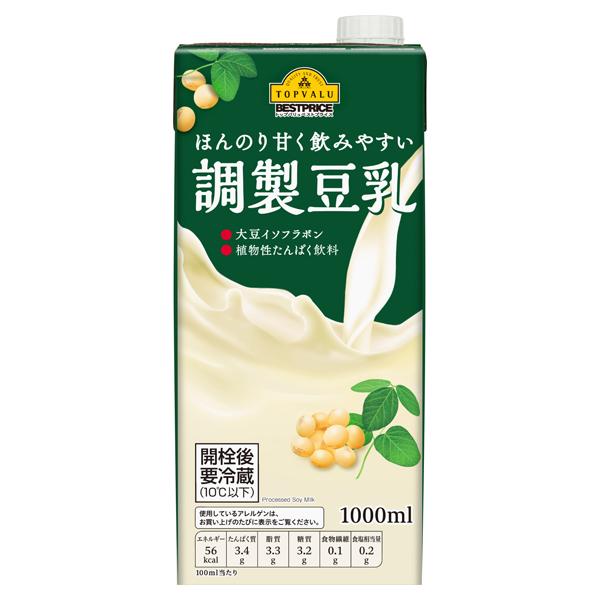 ほんのり甘く飲みやすい 調製豆乳 大豆イソフラボン 植物性たんぱく飲料