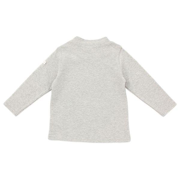 オーガニックコットン 無地ハイネックTシャツ 商品画像 (0)