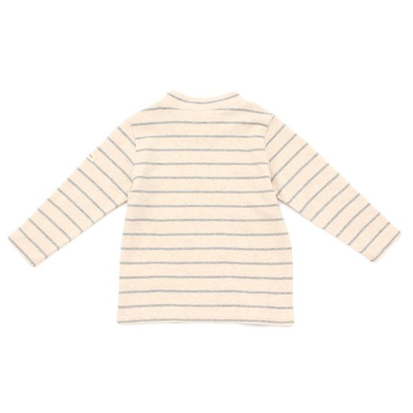 オーガニックコットン ボーダーハイネックTシャツ 商品画像 (0)