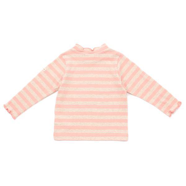 オーガニックコットン ミニハイネックボーダーTシャツ 商品画像 (0)