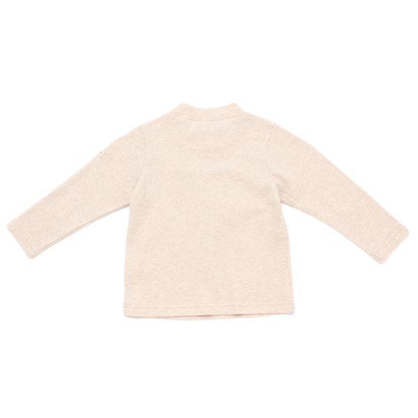 オーガニックコットン 胸切替ハイネックTシャツ 商品画像 (0)