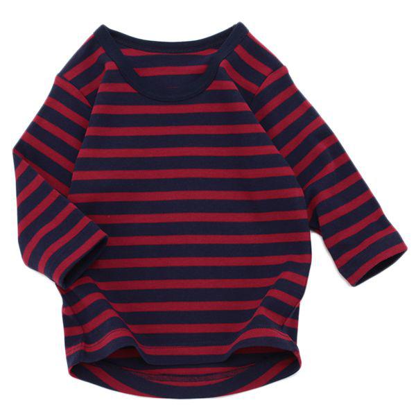 オーガニックコットン スムース編み 長袖Tシャツ 【2枚よりどり1280円(本体価格)】