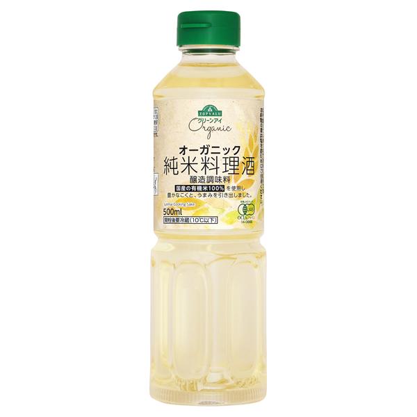 オーガニック 純米料理酒 醸造調味料
