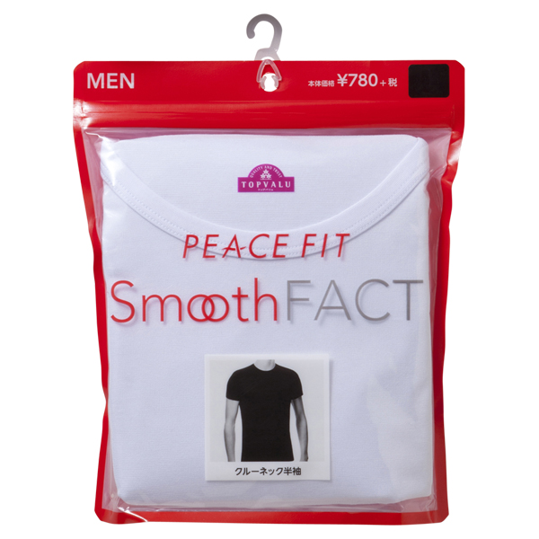 PEACE FIT Smooth FACT クルーネック(半袖) 商品画像 (2)