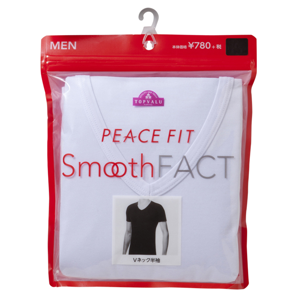 Smooth FACT Vネック(半袖) PEACE FIT 商品画像 (2)
