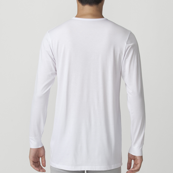 PEACE FIT Smooth FACT クルーネック(9分袖) 商品画像 (1)