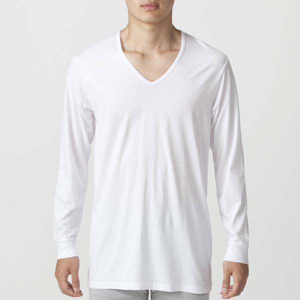 Smooth FACT Vネック(9分袖) PEACE FIT 商品画像 (0)