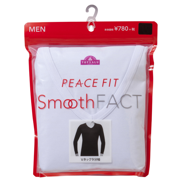 Smooth FACT Vネック(9分袖) PEACE FIT 商品画像 (2)