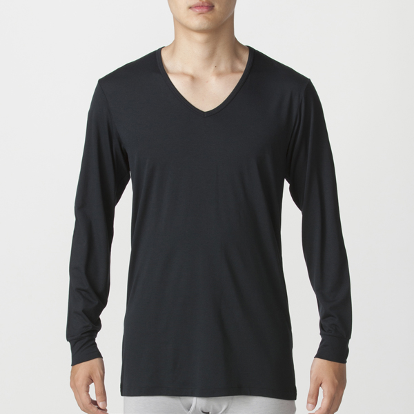 PEACE FIT Smooth FACT Vネック(9分袖) 商品画像 (0)