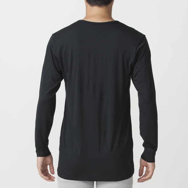 PEACE FIT Smooth FACT Vネック(9分袖) 商品画像 (1)