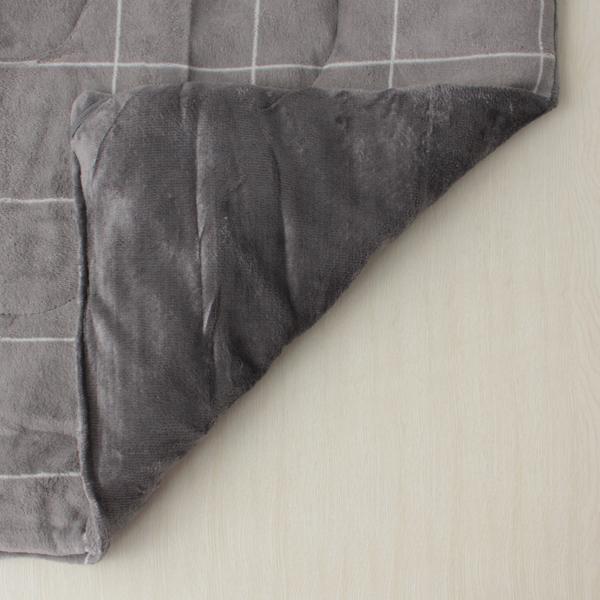HOME COORDY ウインドーペイン長方形こたつ掛ふとん グレー 商品画像 (1)