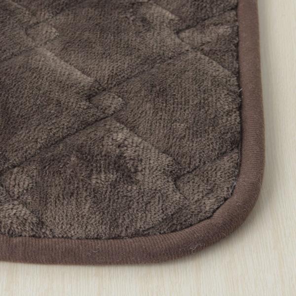 HOME COORDY 正方形こたつ敷ふとん(ミニ) ブラウン 商品画像 (1)