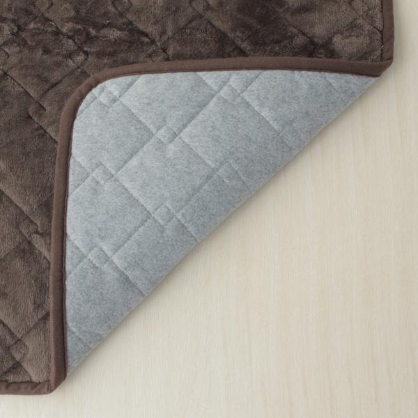 HOME COORDY 正方形こたつ敷ふとん(ミニ) ブラウン 商品画像 (2)