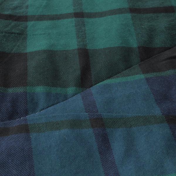 HOME COORDY ブラックウオッチ楕円形こたつ掛ふとん グリーン 商品画像 (2)