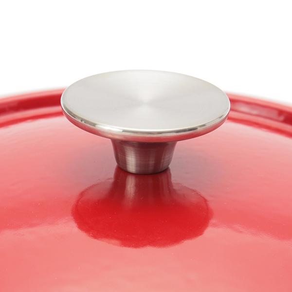 鋳物ホーロー鍋 22cm HOME COORDY 商品画像 (2)