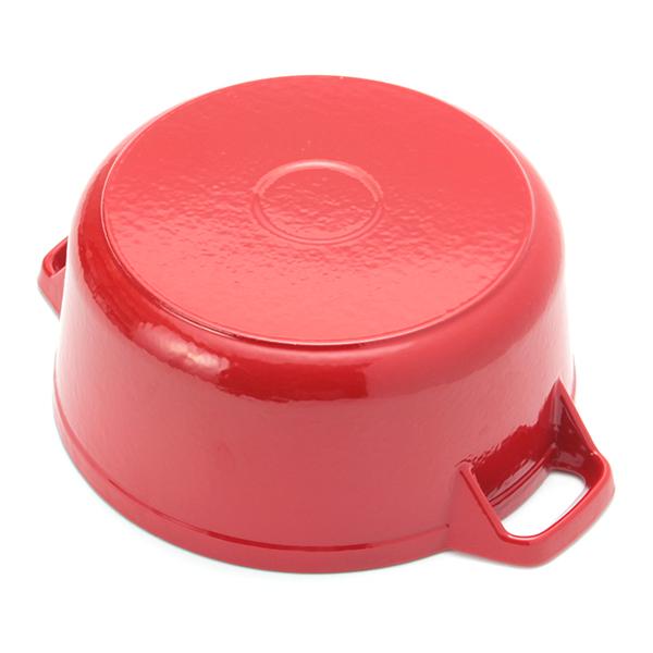 鋳物ホーロー鍋 22cm HOME COORDY 商品画像 (4)